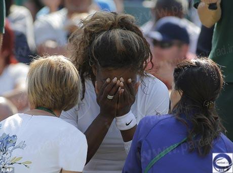 ستاره تنیس زنان جهان در بستر بیماری +تصاویر