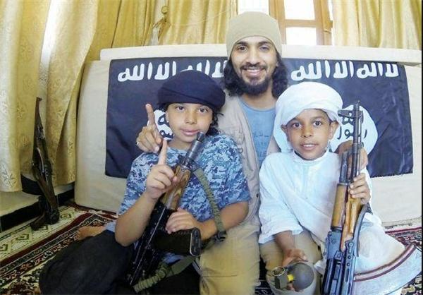 کوچکترین اعضای گروهک داعش +عکس