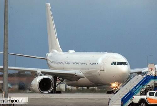 هواپیمای اردوغان عکس هواپیمای شخصی اردوغان