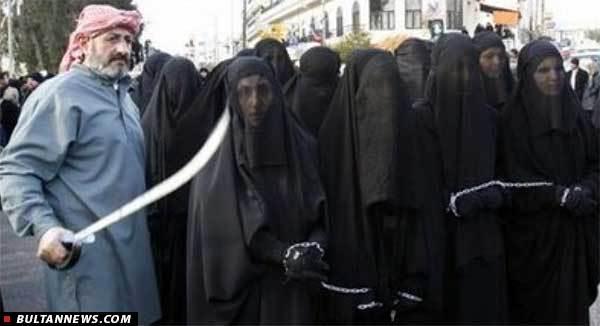 مزایده دختران و زنان عراقی توسط داعش