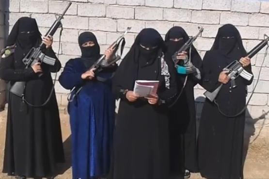 زنان خطرناک داعش را بیشتر بشناسید