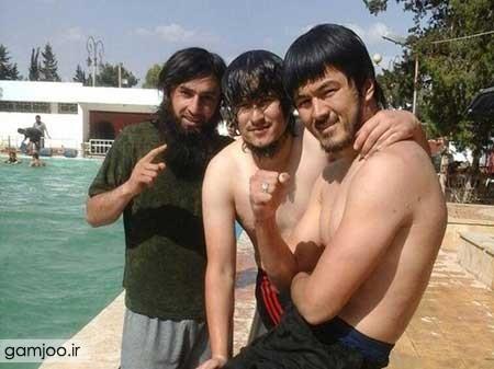 عکسهایی از موبایل اعضای داعش