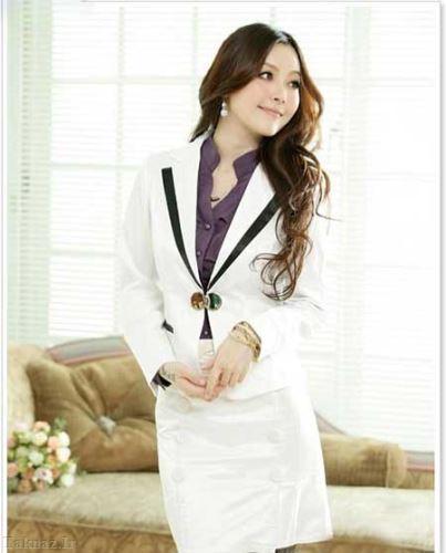 مدل کت سفید زنانه 2014