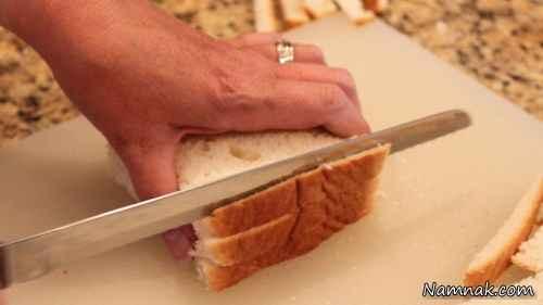 طرز تهیه رولت فرانسوی برای صبحانه