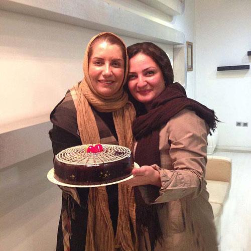 جشن تولد ۴۸ سالگی فریبا کوثری + تصاویر