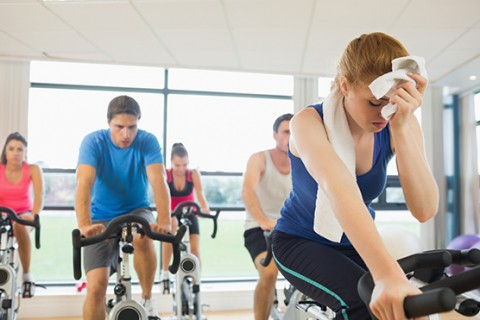خطرات کلاسهای ورزشی گرم