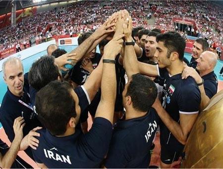 پاداش والیبالیست های ایران بلوکه شد!!!
