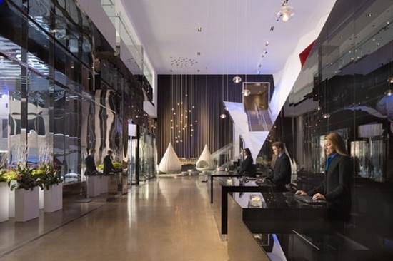 15 6 تصاویری از مدل چیدمان لابی هتل