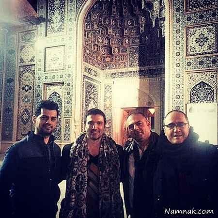 رامبد جوان و محمدرضا فروتن در شیراز + عکس