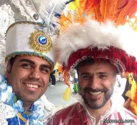 عکس های دیده نشده سفر بازیگران به برزیل
