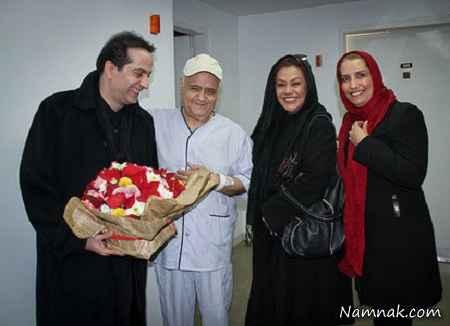 فریبا کوثری و رامسین کبریتی و نسرین مقانلو در کنار اکبر عبدی