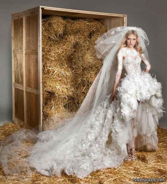 مدل لباس عروس ۲۰۱۵ – سری ۱