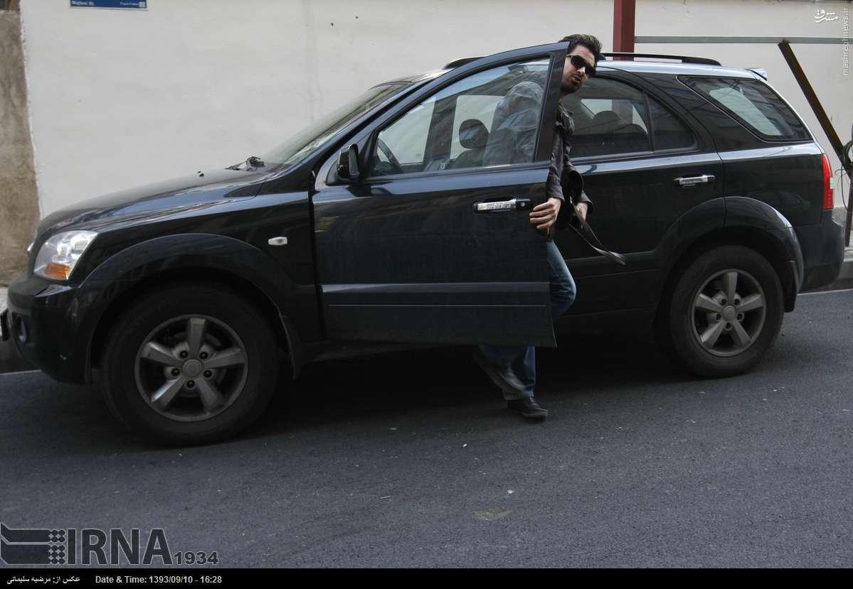 عکس خودروی شهاب حسینی