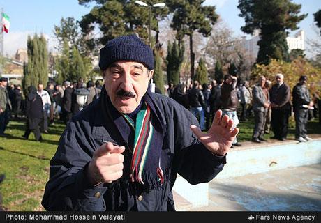 چهره ها در مراسم تشییع مرتضی احمدی +تصاویر