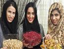 عکسهای بازیگران در شب یلدا ۱۳۹۳