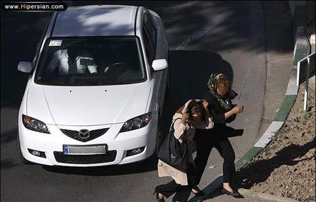 گزارش و تصاویری تاسف بار از مزاحمت های خیابانی دختران در تهران !