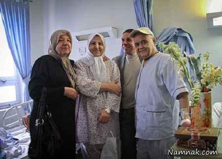 عیادت اکبر عبدی از بیماران