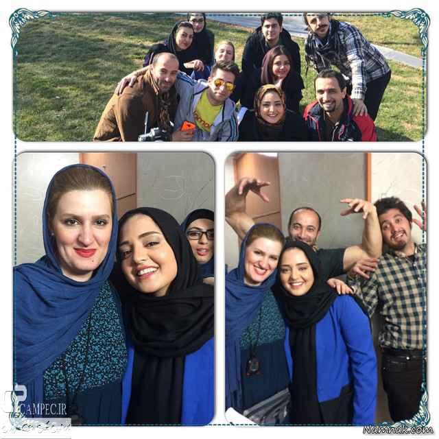 نرگس محمدی و دوستانش
