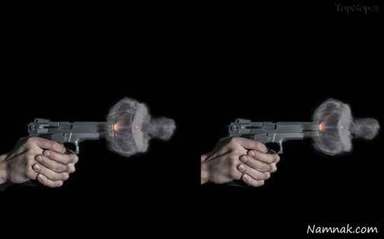 شلیک تیر از هفت تیر