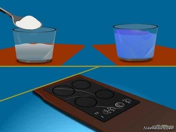 آموزش چگونه از بین بردن خط و خش میز و اجاق های شیشه ای