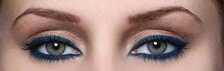 آرایش چشم سبک اسپرت