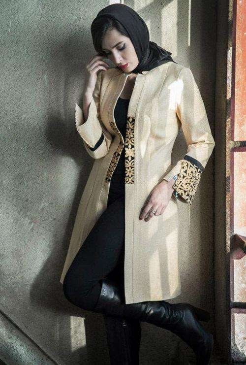 مدل مانتو پاییزه Aida Rahimi 2