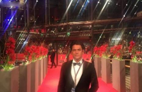 جدیدترین عکس محمد رضا گلزار در جشنواره فیلم برلین