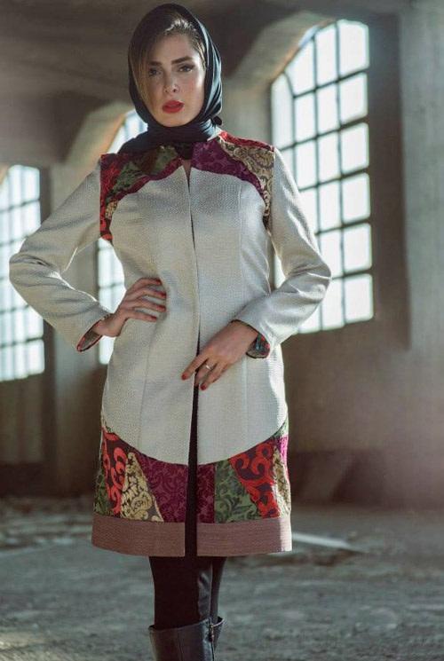 مدل مانتو پاییزه Aida Rahimi 1