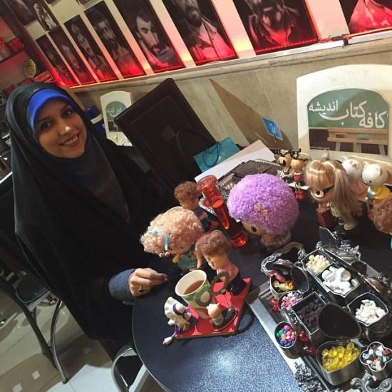 عکس جدید مژده لواسانی در نشست سریال پرده نشین