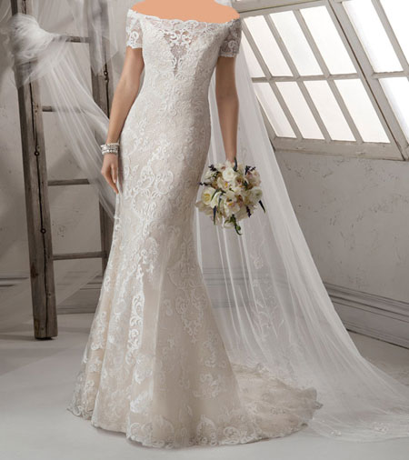 مدل لباس عروس Midgley