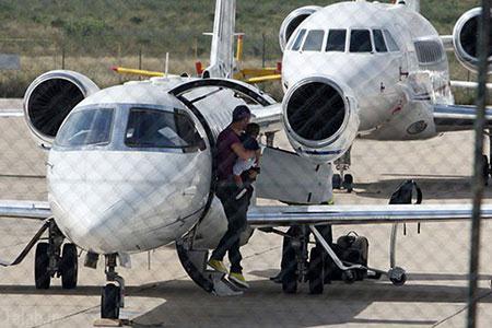 هواپیمای شخصی رونالدو (عکس)