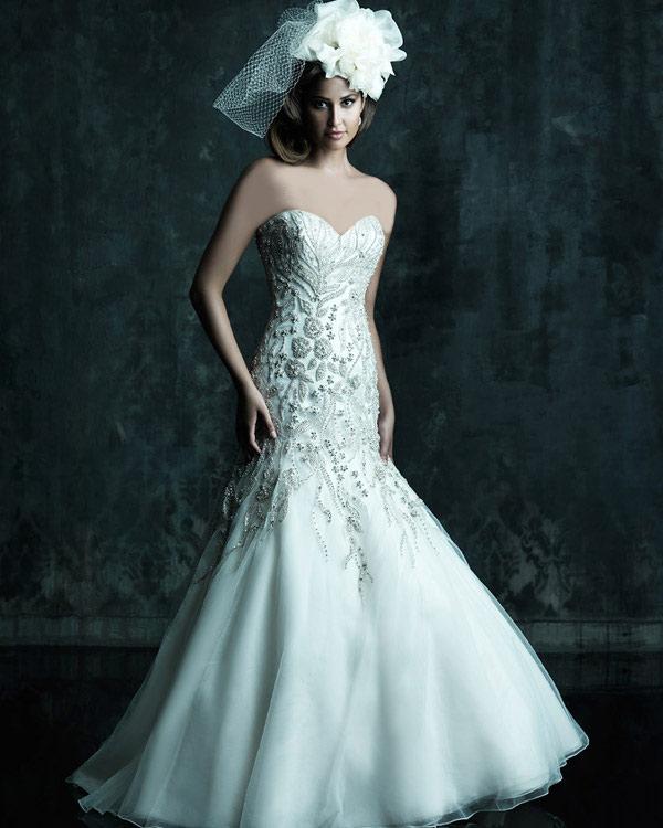 مدل لباس عروس راسته و کلوش