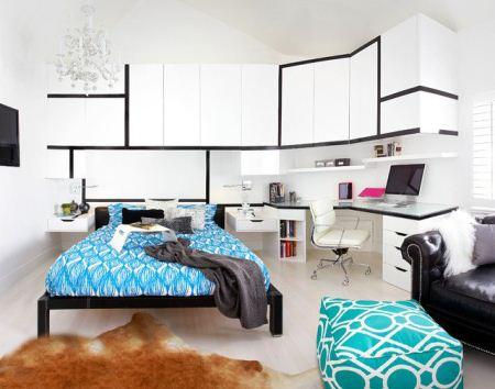 مدل های جدید و شیک دکوراسیون اتاق خواب 2015