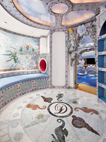 تصاویری از اتاق خواب و بازی پرنس و پرنسس ثروتمند