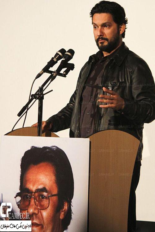 مراسم بزرگداشت مرحوم خسرو شکیبایی با حضور بازیگران مشهور