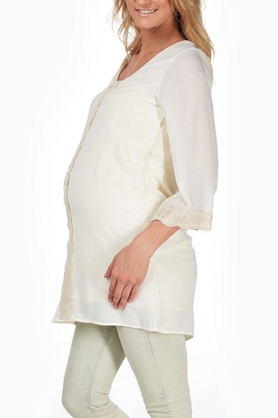 رنگ ها و مدل های زیبای لباس بارداری