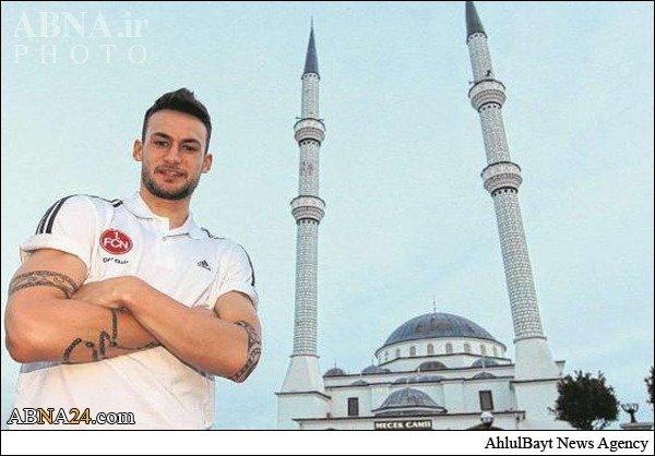 فوتبالیست مشهور آلمان مسلمان شد /عکس