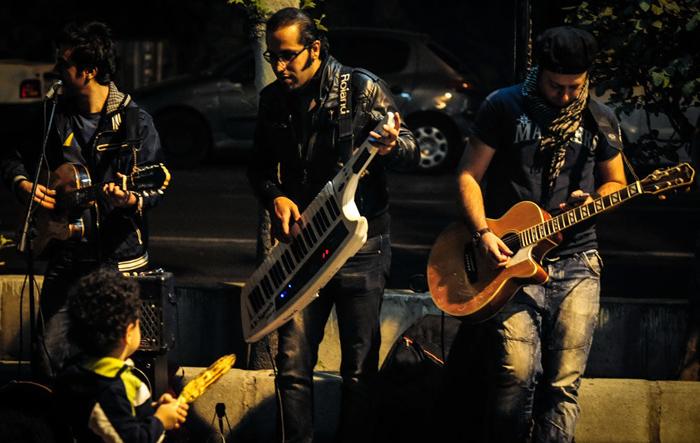 (تصاویر) کنسرتهای خیابانی در تهران