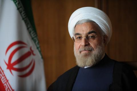 ابلاغ پیام حسن روحانی به نخست وزیر الجزایر