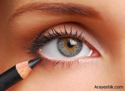 راهنمای تصویری کشیدن خط چشم برای تازه کارها