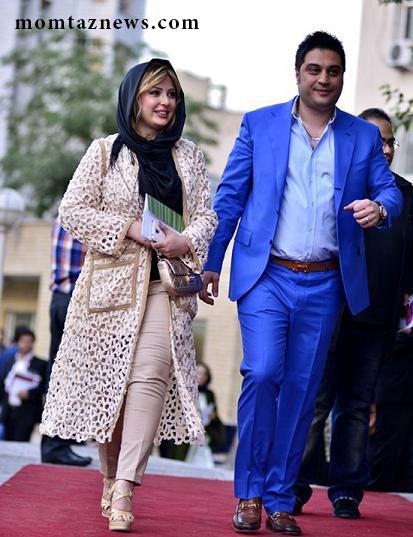 لباس و تیپ جالب بازیگران و همسرانشان در جشن سینمایی حافظ ۱۳۹۴