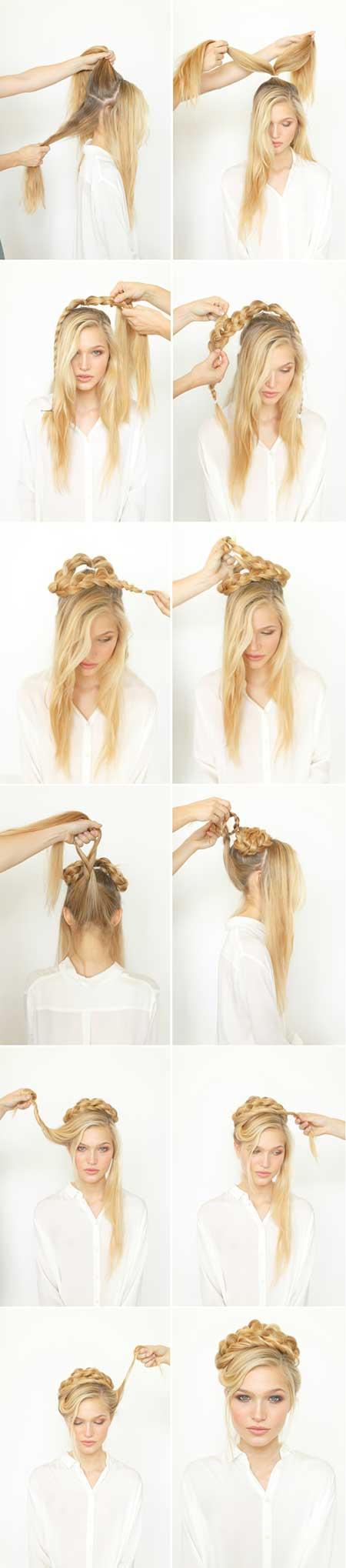 آموزش بافت مو همراه با تصویر آموزشی