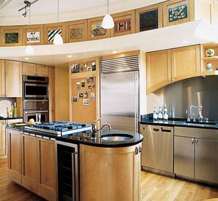 شیک ترین دکوراسیون آشپزخانه سال ۲۰۱۵