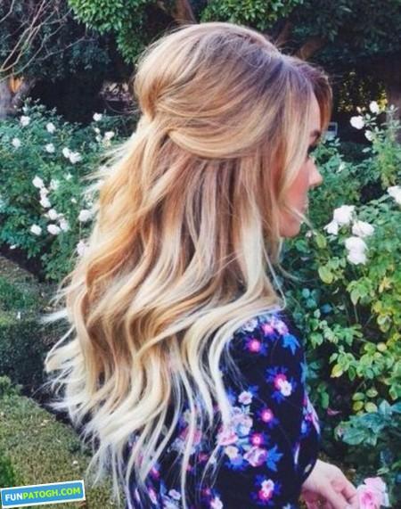 مدل موهای شیک خاص بلند مد روز 2015