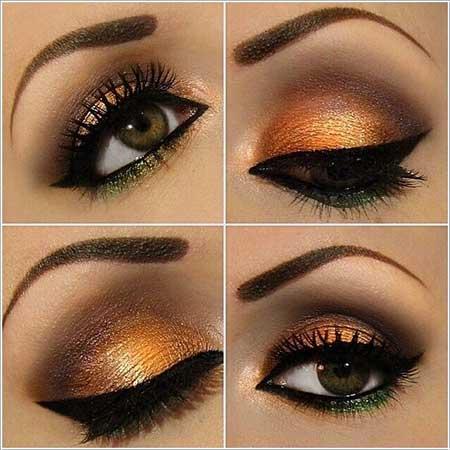سبک های متفاوت و زیبای آرایش چشم (تصویری)