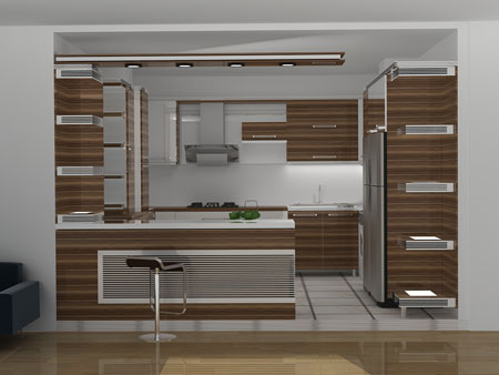 دکوراسیون آشپزخانه کوچک,عکس دکوراسیون آشپزخانه,طراحی دکوراسیون آشپزخانه