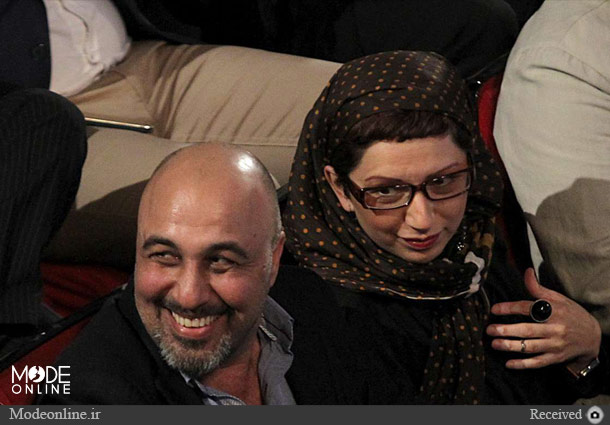 رضا عطاران و فریده فرامرزی