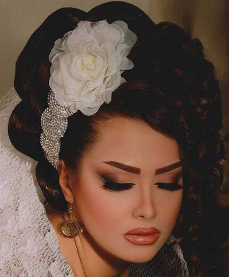 مدلهای زیبا و جدید آرایش عروس
