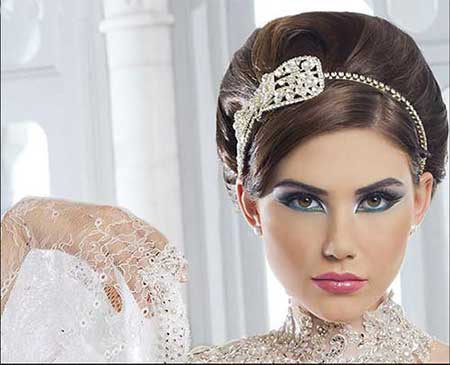 تصاویر جدیدترین مدل آرایش عروس ۲۰۱۵