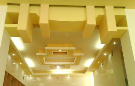 طراحی سقف خانه برای زیبایی دکوراسیون منزل